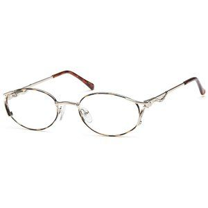 Peachtree Oval Style Demi Amber Frame